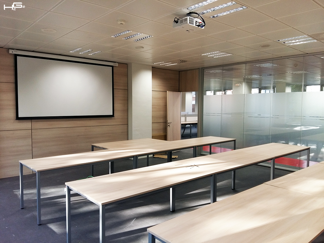 Acondicionamiento edificio de oficinas mapfre h2g2 for Oficina central de mapfre