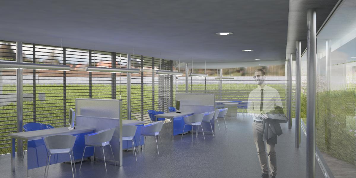 Primer premio concurso restringido centro m dico solimat for Centro medico ciudad jardin