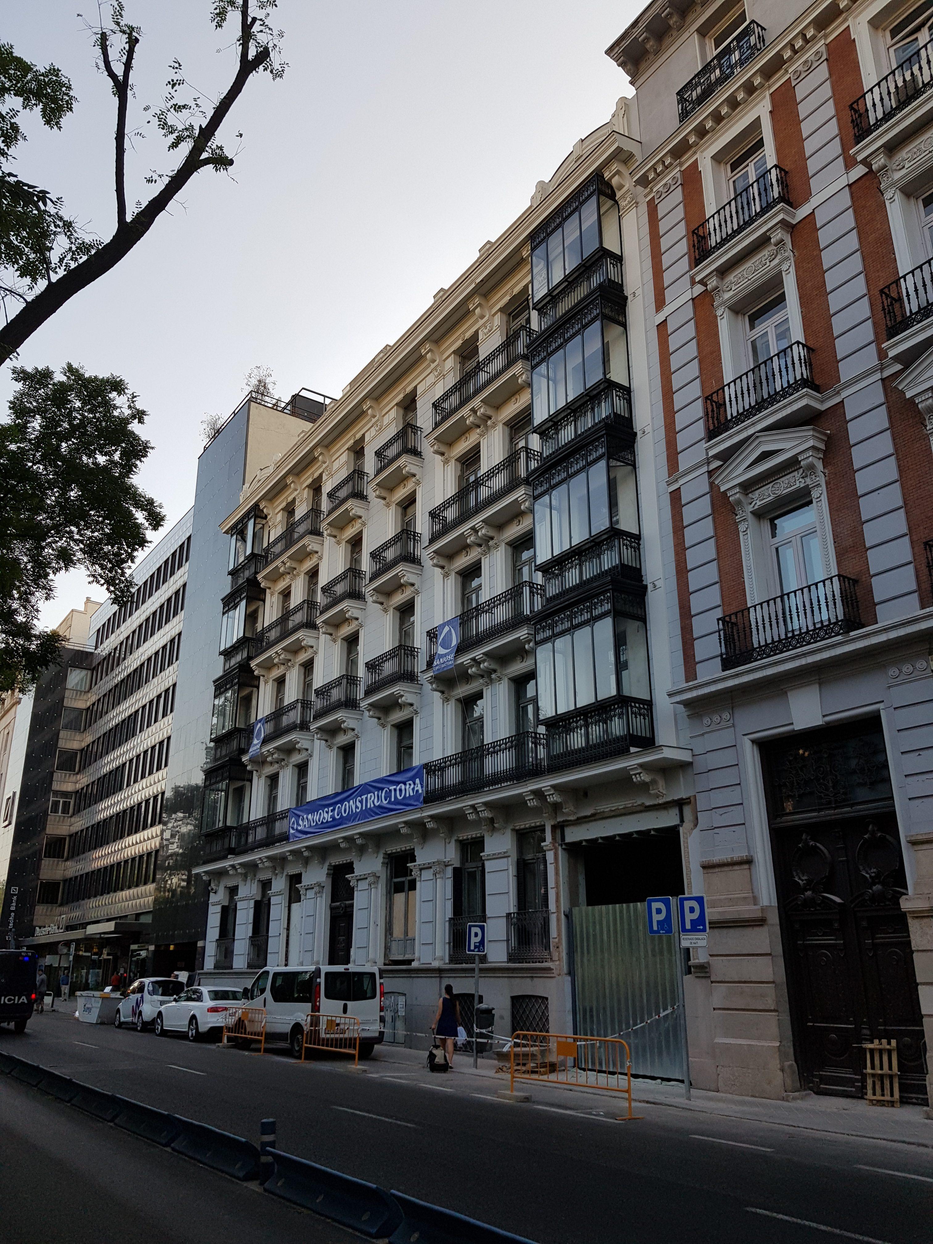 Rehabilitación y ampliación de edificio de oficinas en Castellana 16
